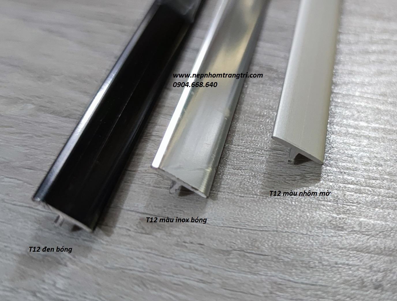 nẹp nhôm T12mm